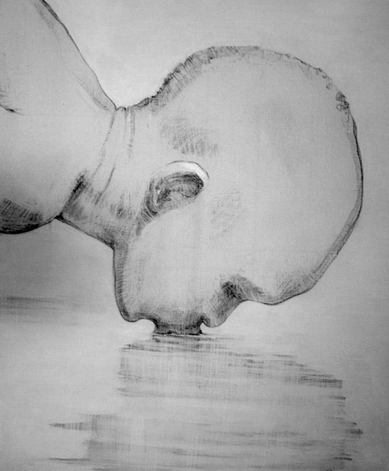 """Картина """"Голова африканского мальчика"""""""